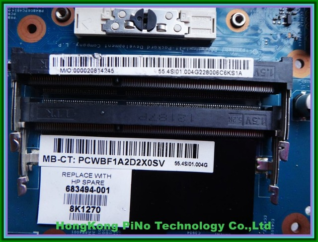 683494-001 Для hp 4540 S 4740 S Материнской Платы Ноутбука HM76 slj8e С HD 7650 М 2 ГБ Графики