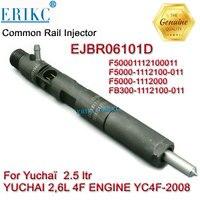 Erikc Ejbr06101d CRI Common Rail Original Injector Ejb R06101d and Ejbr0 6101d Diesel Inejctor F5000 1112000 for Yuchai 2.5 Lt