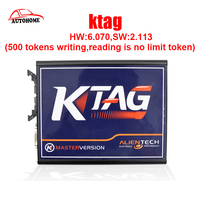 Newest HW 6 070 SW 2 113 K TAG ECU Programming Tool For Cars 500 Tokens