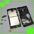 Оригинальный Полный Жилья для Sony Xperia Ion LT28i LT28H LT28 Корпуса Назад Крышка Батарейного Отсека Чехол С Кнопки Код Отслеживания