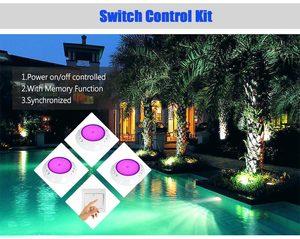Image 4 - Hotook 水中ライト wifi led プールライト rgb 2.4 グラムキット樹脂充填に foco PAR56 piscina ランプタイマー調光アプリ制御