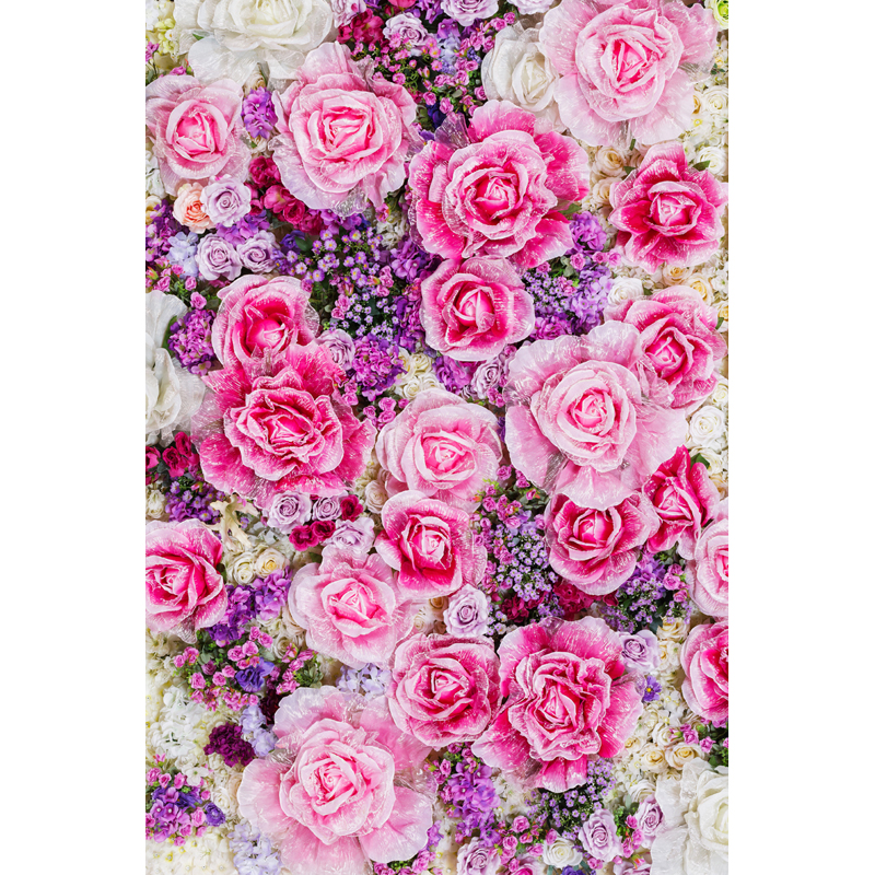 Vinyl Photography Backdrop Vintage photo studio photographic background Flower Wall Floral Newborns Kids Background 5X7ft  F1913 vinyl floral flower newborn backdrops cartoon unicorn photography background studio photo props 5x3ft