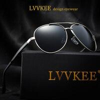 2017 New Hot LVVKEE Brand Top Design Men Polarized Sunglasses Driving Women Sunglasses Aviator Luxury Brands