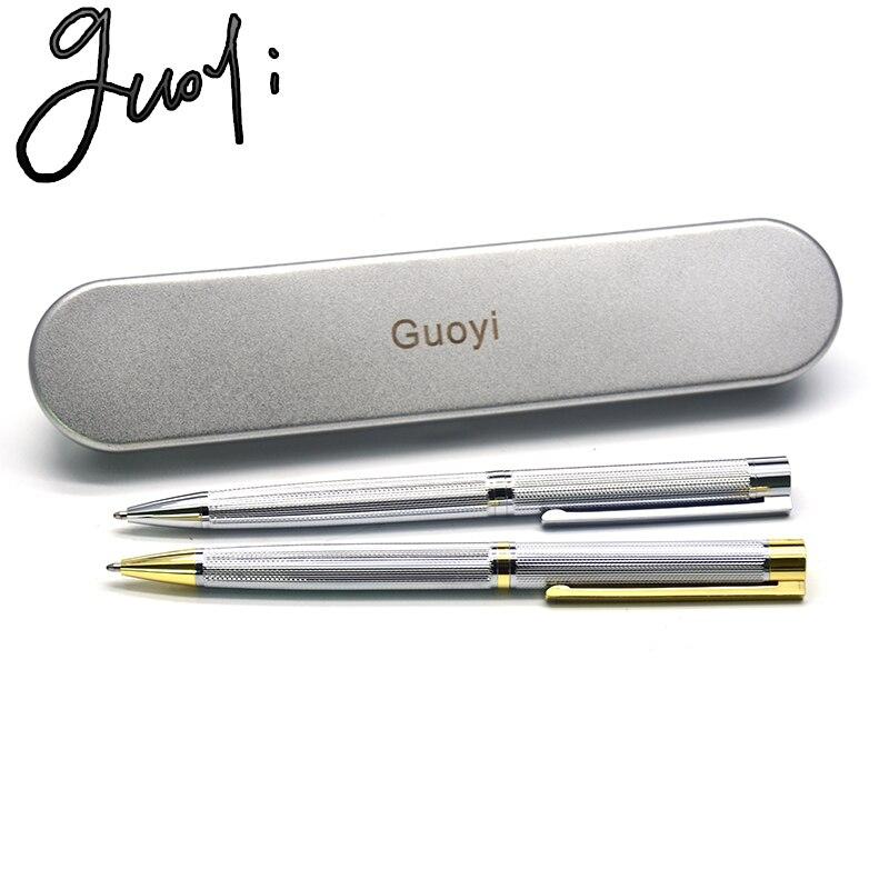 Guoyi Z090 Metal Ballpoint Pen 0.7mm Nib For School Office Study Essential Stationery Gift Luxury Pen Business Hotel Pen