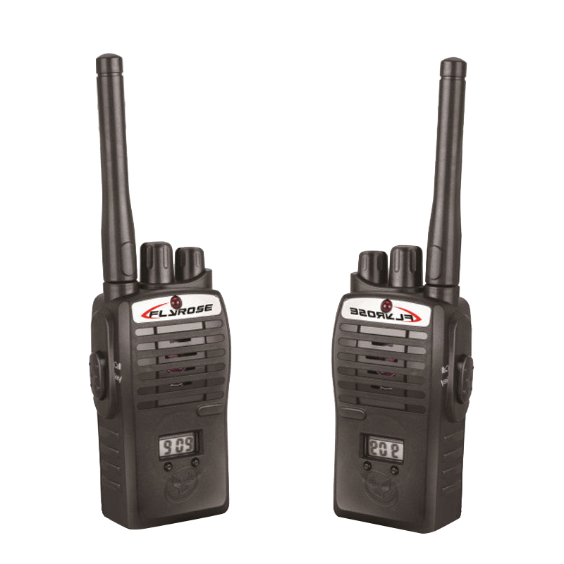 2X Walkie Talkie Kids Electronic Toys Portable Two-Way Radio Set Black