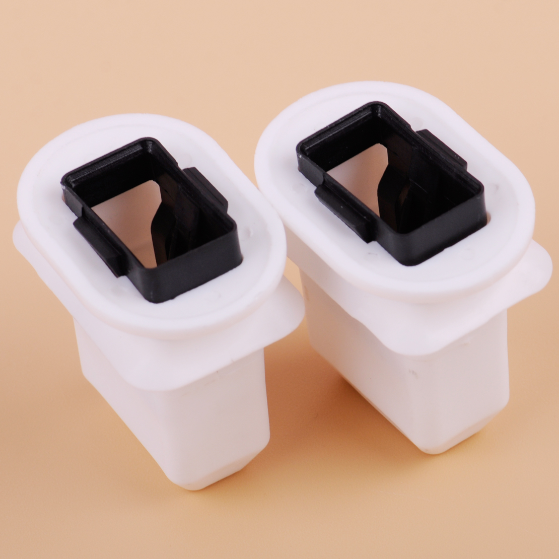 CITALL New 2Pcs Rear Row Seat Cushion Frame Grommet 4L0886373Fit for Audi Q7 A4 A6 Quattro S4 S6 2008 2009 2010 2011-2015