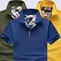 HGYS 2016 pure color свободные лацкан отдых с коротким рукавом polo shirt