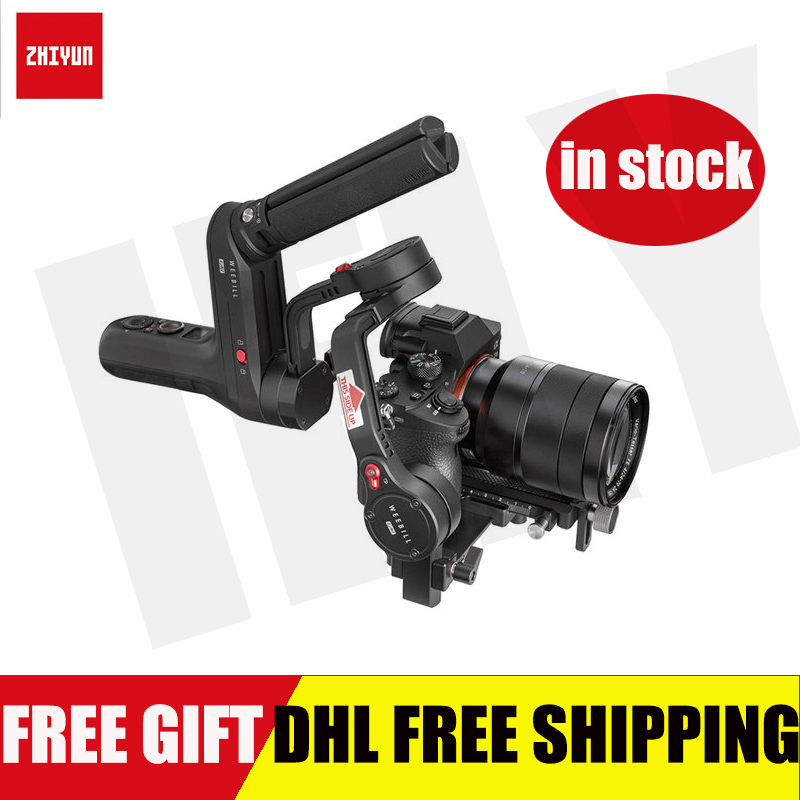 Zhiyun Weebill LAB Gimbal 3-Axis Handheld Stabilizer For Mirrorless Camera Lumix GH5S GH5 Sony A9 A7S2 PK DJI Ronin S Moza