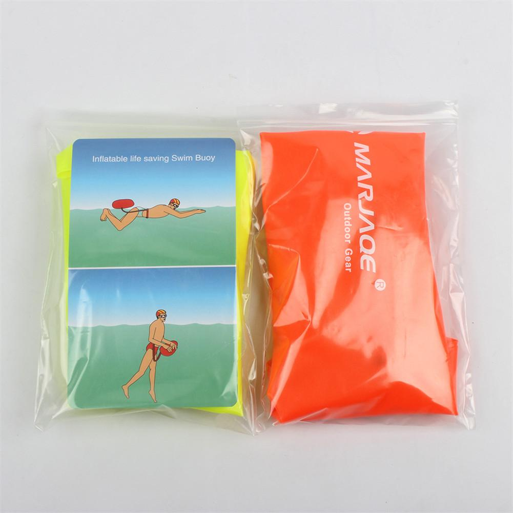 Single Airbag Swimming Ring Pool Safety Beach Lifebuoy Prevent Drowning Inflatable Floating Buoy in Swimming Rings from Sports Entertainment