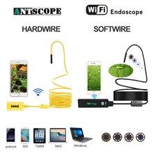 Antscope Wifi 8mm Endoscope 2/3.5/5/10M Yellow Hardwire 1200P Android iOS Black Soft Tube Mini Camera Inspection Boroscopio 19