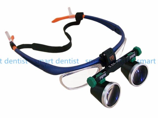 все цены на Good Quality 2.5X 3.5X 4X 5X 6X Binocular Headwear Medical magnifying glass Surgical loupes Dental Loupes medical loupes онлайн