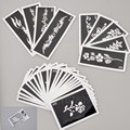 50 Mixed Design Sheets Stencil for Flash Body Paint-Airbrush tattooTemplate Glitter Temporay Tattoo Kit- Free shipping