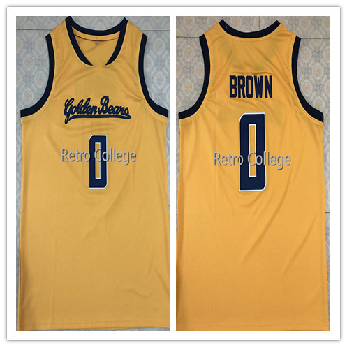 Vintage #0 Jaylen Brown California Golden Bears Throwback College basketball jersey all size Embroidery Stitched michael jordan jersey 23 north carolina tar heels basketball jersey throwback men s college jersey sport shirt all stitched