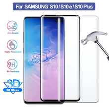 20D Curved Tempered Glass For Samsung Galaxy s10 Plus s10e Full Cover Premium Screen Protector