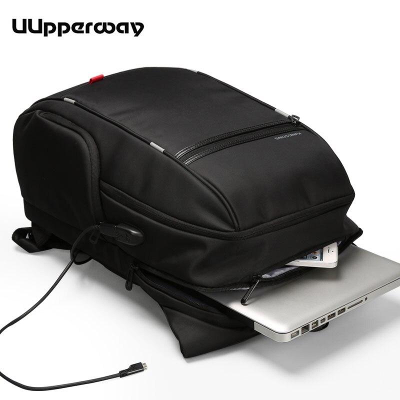 "Mochila Kingsons 15.6"" Laptop Backpack Travel 13.3 -17.3 inches Waterproof Backpack Men's Multifunction Daypack USB School Bags"