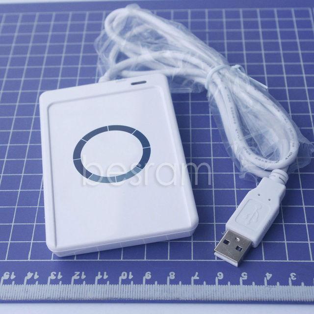 NFC Acr122u RFID inteligentes sem contato USB Leitor Escritor + SDK + Cartão Mifare IC