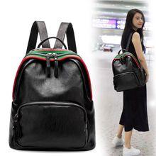 100% натуральная кожа женские рюкзаки кожаные рюкзаки студенческие сумки для подростков девочек Женский Путешествия Back Pack