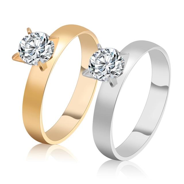 Aliexpress Com Buy 3a Cubic Zircon Wedding Band Ring For Women
