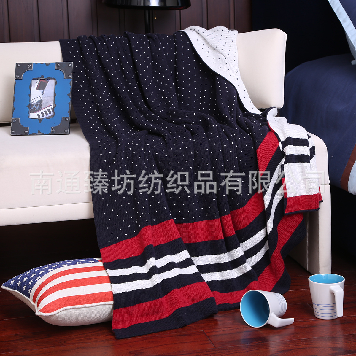 ФОТО  100%Cotton Thick Blanket british look Home Adult Plaid Beautiful Blanket Warm Winter Sofa Travel Blanket Portable Healthy Life