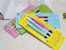 """3 עיפרון מכאני חמוד kawaii יח\סט לבית הספר וציוד ציור 2B עפרונות מכאניים עיפרון אוטומטי 0.7 מ""""מ"""