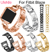 Stainless steel wristband For Fitbit Blaze smart watch frontier/Classic replacement bracelet For Fitbit Blaze strap accessories crested for fitbit blaze frame replacement stainless steel case activity tracker smart watch accessories