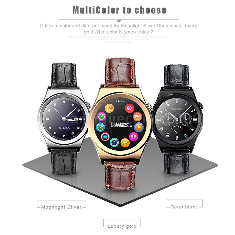 New Smart Watch X10 font b Smartwatch b font for Iphone android phone heart rate monitor