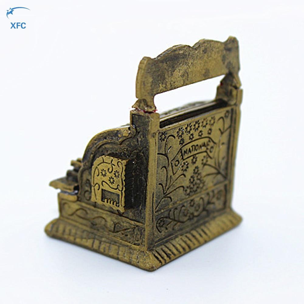 Miniature Metal Cash Register Decoration Part Accessory For 1/10 RC Rock Crawler Car Axial SCX10 RC4WD D90 CC01 TRAXXAS TRX4