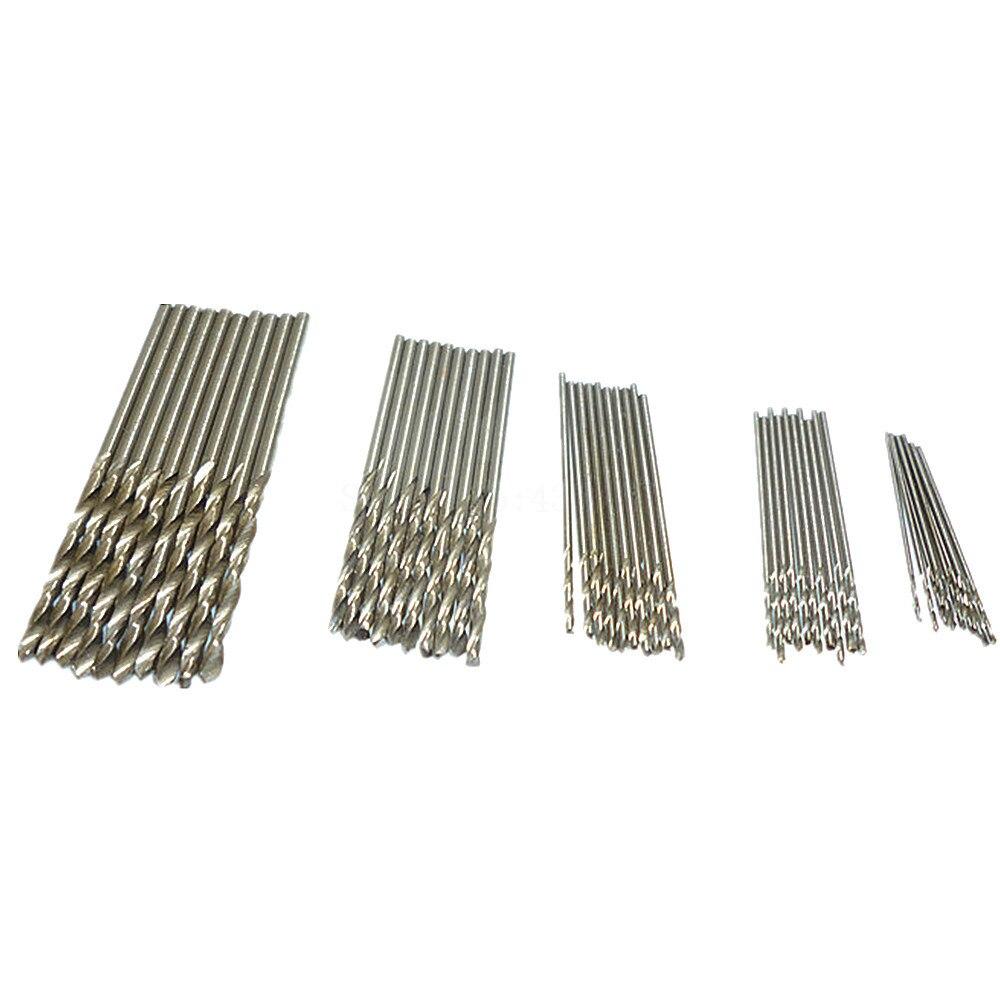 New Pro Micro HSS Straight Shank Twist Drill Drilling Bits Set for Drill Tools