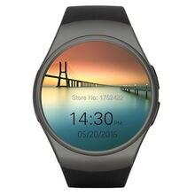 Runde wasserdichte touchscreen smartwatch new kw18 smartphone armbanduhr für apple android wear mit sim bluetooth intelligente uhren