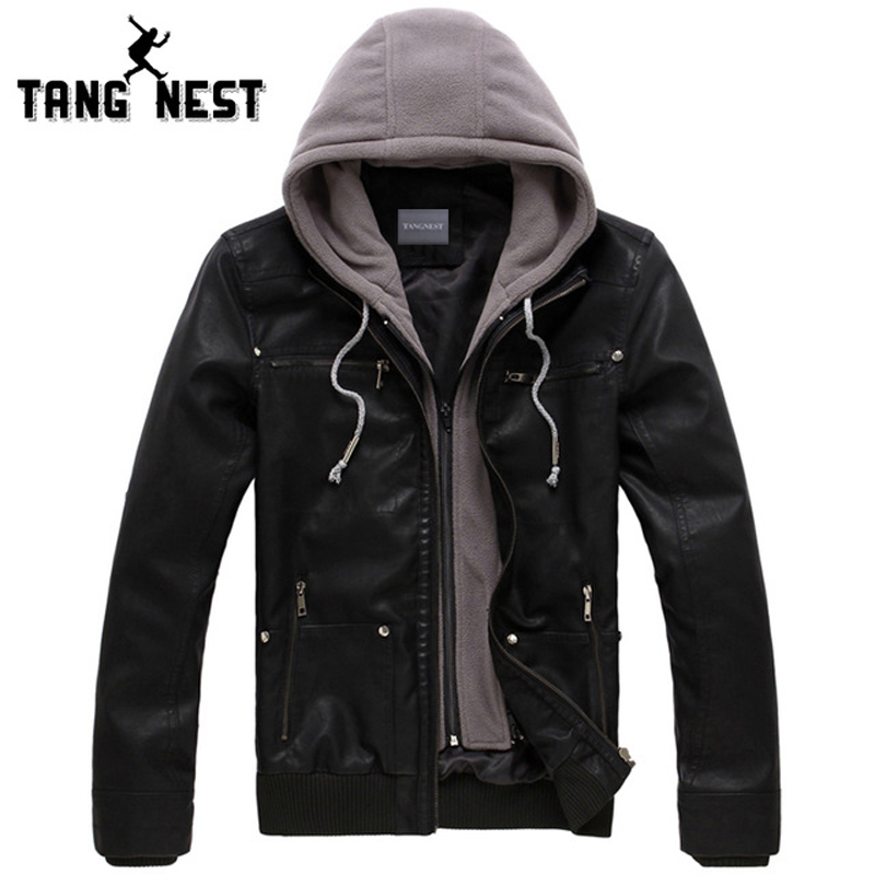 Popular Hooded Leather Jackets Men-Buy Cheap Hooded Leather