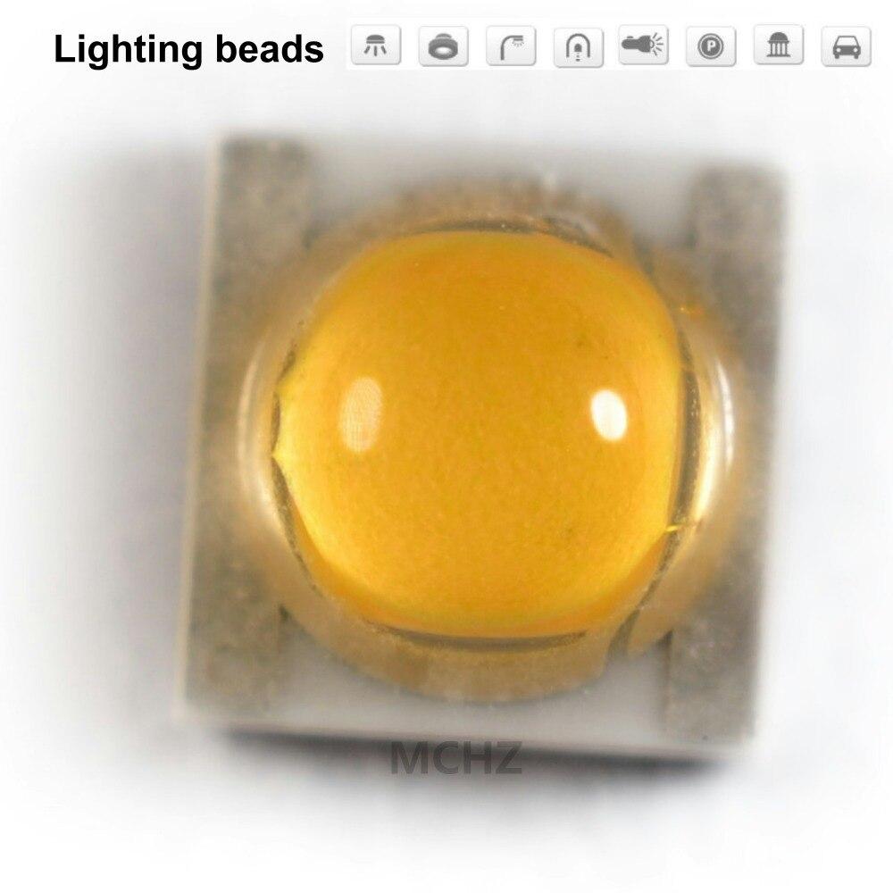 70 pces 3535 led bridgelux 45mil zener diodo de alta potência 2 w 3000 k 5700 k substrato cerâmica espectro completo