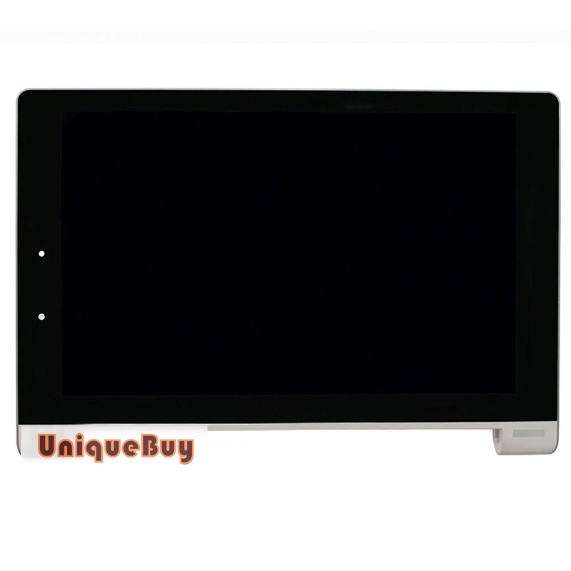 10 Inch LCD Display For Lenovo B8000 Yoga Tablet Screen + Touch Screen + Frame Replacement Digitize for 7 inch tablet lcd display wjws070087a fpc lcd screen module replacement 30 pin lwh 164 97 2 5mm