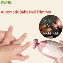 Top Quality Electric Baby Nail Trimmer Manicure Pedicure Clipper Cutter Scissors Kids Infant #330