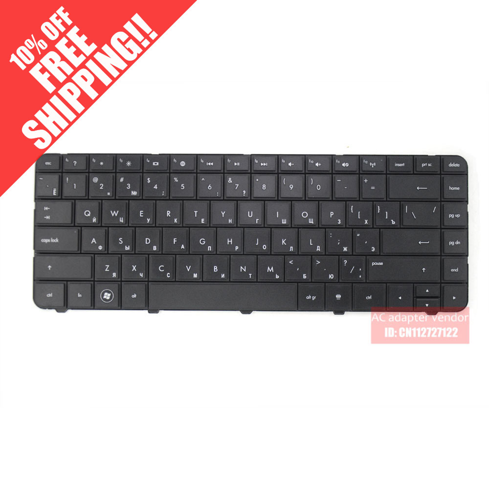 New Replacement FOR HP 250 G1 255 G1 RU Russian version black laptop built-in keyboard image