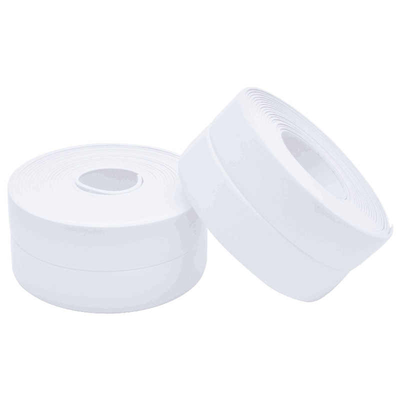 3.8*320 センチメートル自己粘着キッチンセラミックステッカー防水防湿 PVC ステッカー浴室の壁コーナーラインシンクステッカー