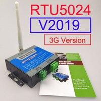 V2019 3G versión RTU5024 GSM interruptor de relé de apertura de puerta Control de acceso remoto apertura de puerta corredera inalámbrica aplicación Android e iphone