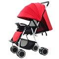 Cochecito de bebé y cochecito coche plegable portátil bebé sentado y acostado