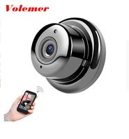 Volemer Mini Camera 180 Degree Monitoring Wireless Wifi VR Panoramic Camera Infrared Night Version Of Motion