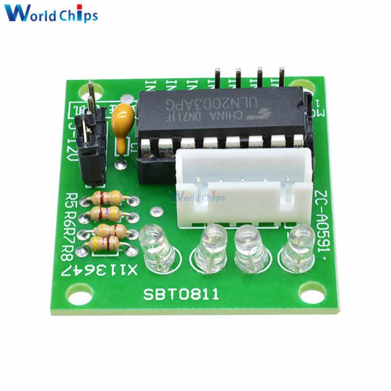 Smart Electronics 28BYJ-48 DC 5 V paso de reducción de engranajes de Motor paso a paso Motor 4 fase + ULN2003 conductor para arduino kit de bricolaje