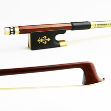 NEW 4/4 Size Pernambuco Violin Bow Round Stick Fast response Exquisite Horsehair Brass Alloy Ebony Frog Violin Parts Accessories голон а анжелика маркиза ангелов