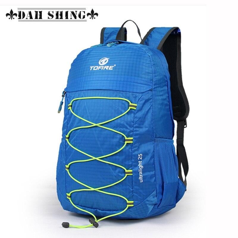 25L Ultra-light waterproof nylon foldable Women backpack men's travel - Backpacks