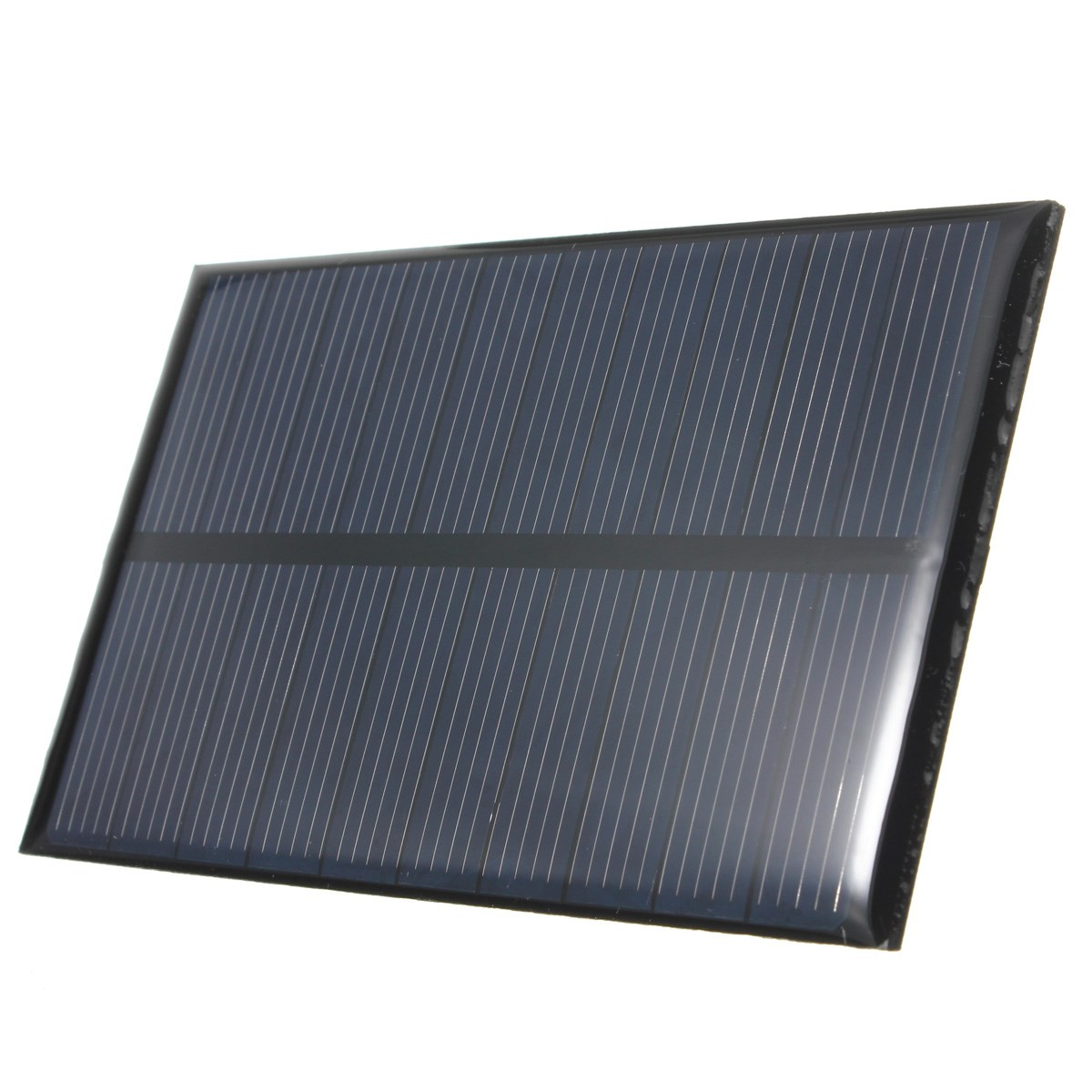 LEORY 5V 1W 200mAh Polycrystalline Silicon Epoxy Stored Energy Solar Panel Module System Solar Cells Battery Phone Charger