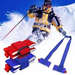 Fofar лыжный пояс Лыжный спорт Skiboard сноуборд привязки защиты галстук Лыжный спорт Сноуборд сумка ремень Перевозчик ручной крепления для