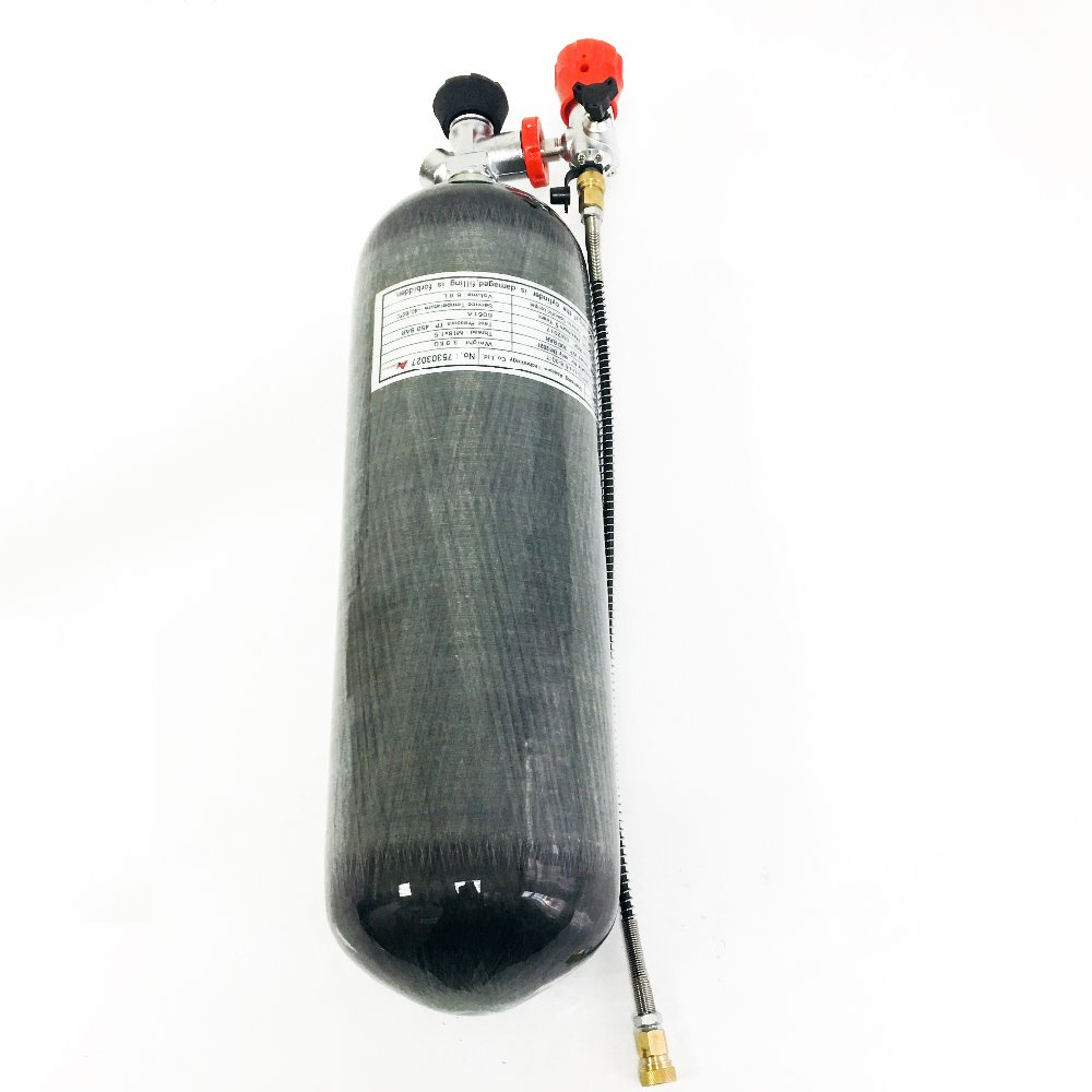 AC168301 Paintball Pistol New 6.8L 300bar 4500psi Compressed Air Tank Gas Cylinder For Airgun Rifle Drop Shipping Acecare