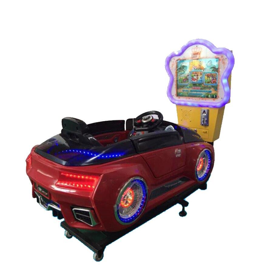 Новый 3D небольшой видео Jockey Club скачки монетные воблер детская игровая площадка качели площадка оборудование YLW K1820