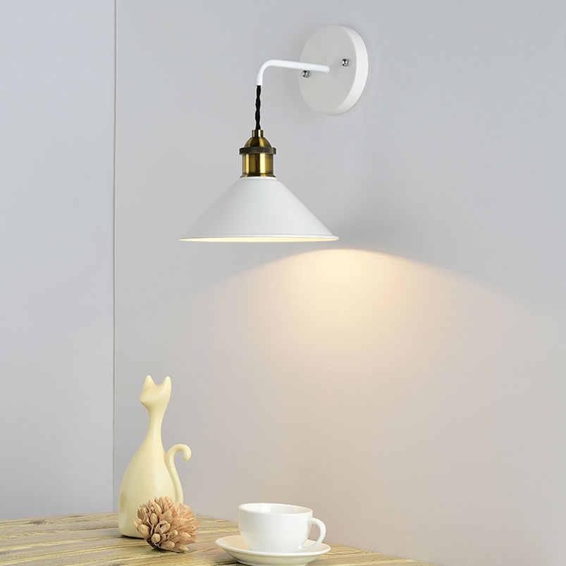 Современная мода настенный светильник для прихожей лестница и спальня гостиная для коридора, рабочего кабинета кафе свет регулируемый бюстгальтер настенный светильник бра