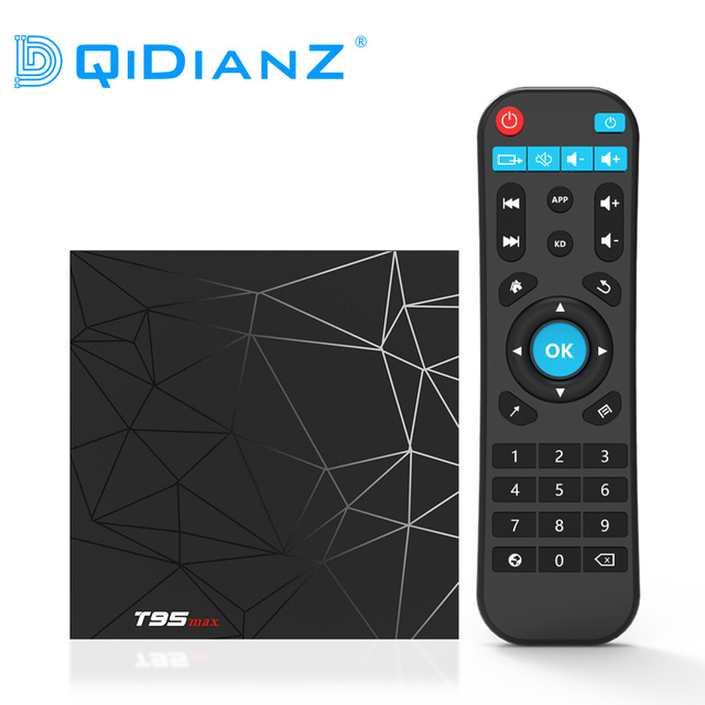 US $26 3 34% OFF|DQiDianZ T95MAX Android 9 0 Smart TV BOX Allwinner H6 Quad  Core support 2 4G Wireless WIFI Set Top Box Media player T95 MAX-in