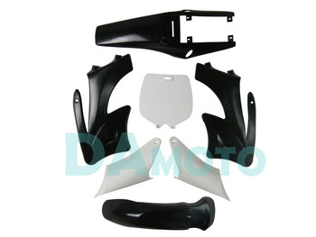 2-stroke for Apollo Orion Fairing plastic body kits fit pit dirt bike 49cc-100cc - Black