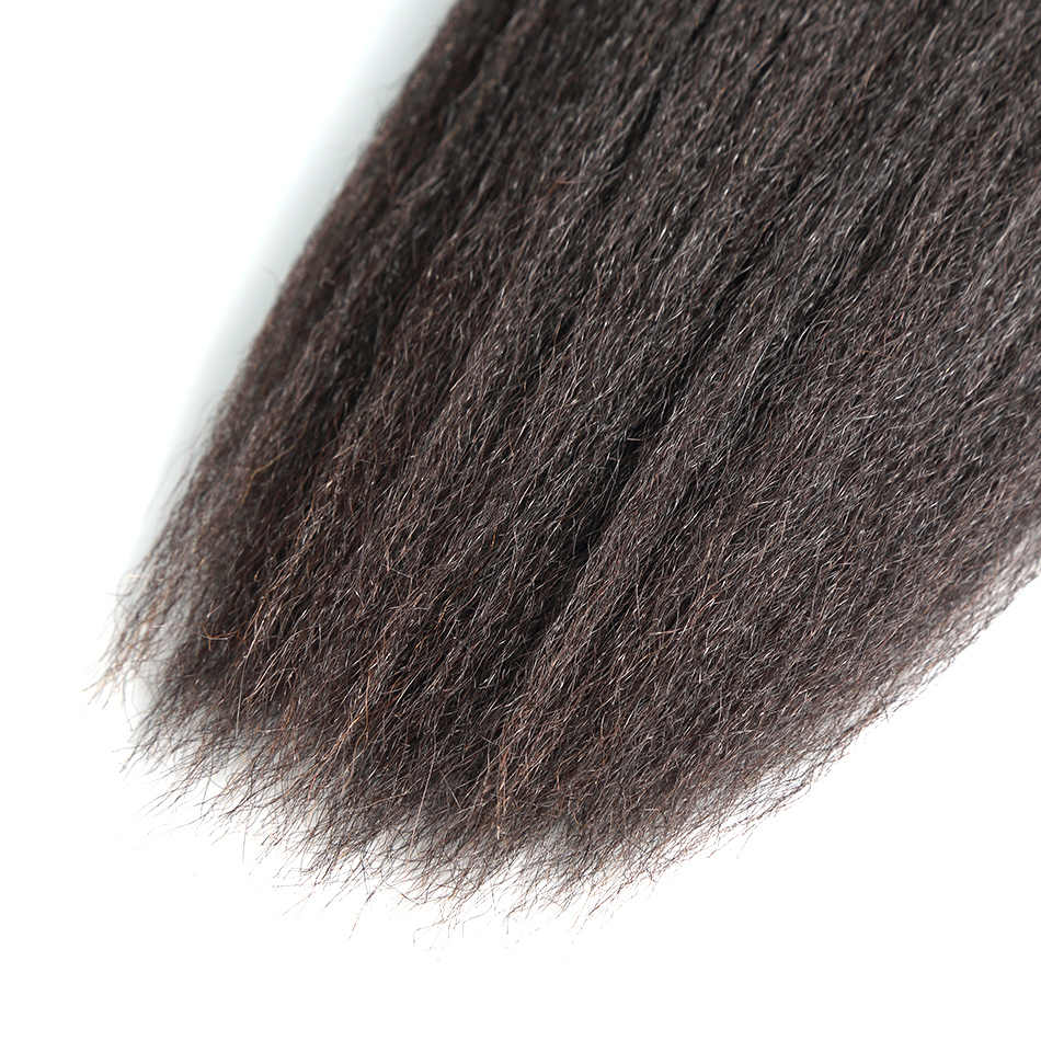 ILARIA волосы 7A перуанские девственные волосы пучки кудрявые прямые 1 шт. 100% человеческие волосы плетение пучки волос утка натуральный цвет