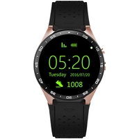 KINGWEAR KW88 1 39 Inch MTK6580 Quad Core 1 3GHZ Android 5 1 3G Smart Watch
